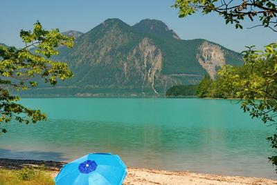 Strandidyll am Walchensee