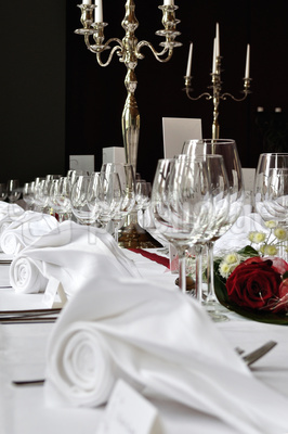 Hochzeitstafel Tisch