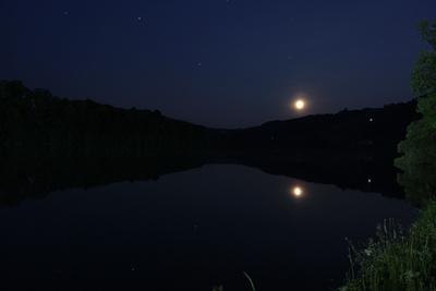 Monduntergangsspiegelung