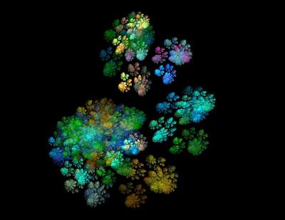 Illusion - Buntes Feuerwerk