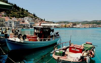 Hafenbucht von Gythio