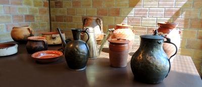 Gefässe im Ölmuseum, Sparta