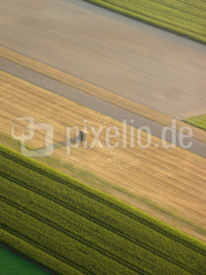 Felder aus der Luft