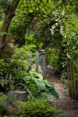 Garten-Eingang
