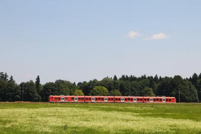 Mit der Bahn durch Oberbayern