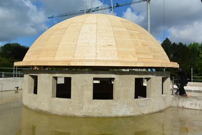 Die Kuppel - Moscheebau Dortmund-Hörde