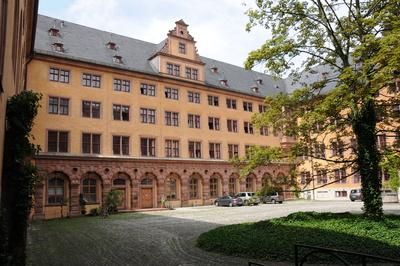 Innenhof der Alten Universität von Würzburg