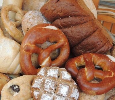 Frisch vom Bäcker
