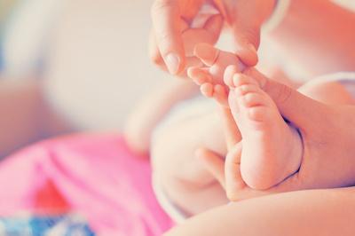 Baby Füßchen - groß und klein