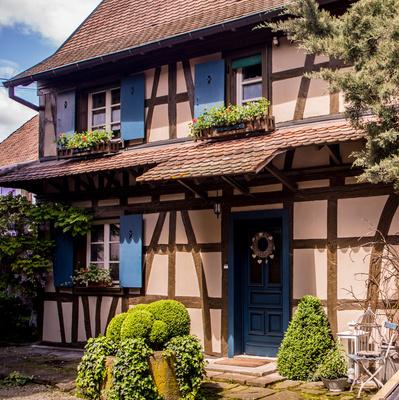 Fachwerkhaus im Elsaß