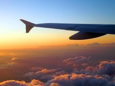 Flug in die Nacht