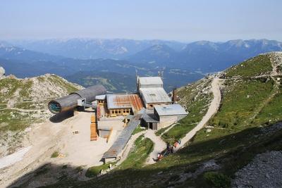 "Bergstation mit ""Bergwelt Karwendel"""