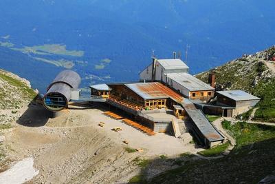 "Bergstation mit ""Bergwelt Karwendel"" 02"