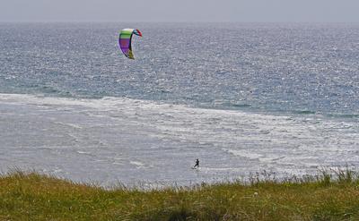 Kitesurfen vor Sylt , . . . .