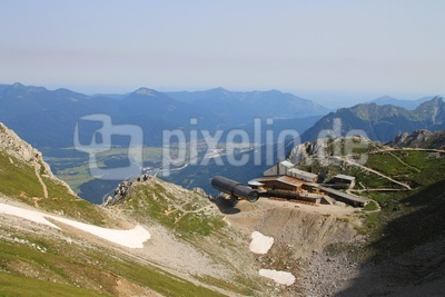 "Bergstation mit ""Bergwelt Karwendel"" 03"