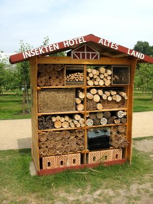 Insektenhotel präsentiert auf der IGS