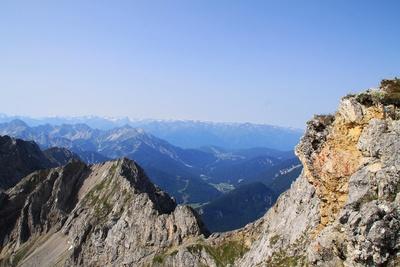Mittenwalder Klettersteig 02