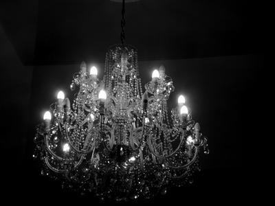 Kronleuchter Barock Schwarz ~ Kostenloses foto: kronleuchter schwarz weiß pixelio.de
