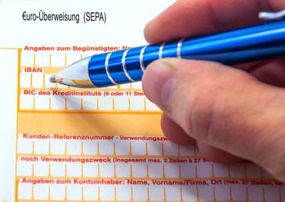 SEPA / Euroüberweisung