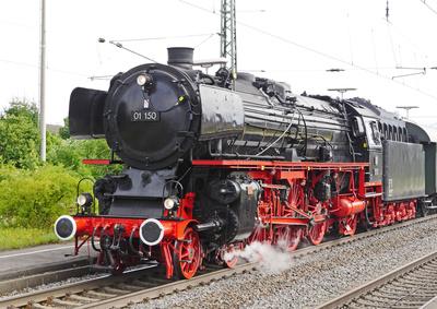 Berühmte Dampflok - die 01 150