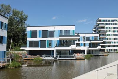 Häuser auf Wasser