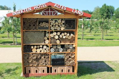 eigenes Hotel für Insekten