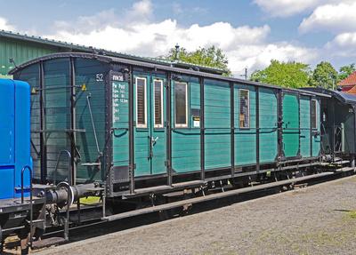 Museumseisenbahnwagen