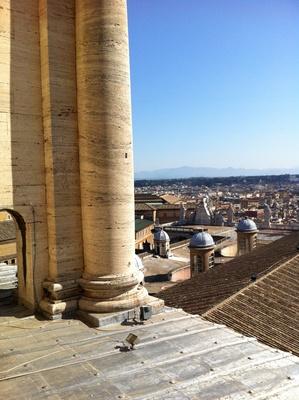 Säulen in Rom