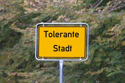 Tolerante Stadt