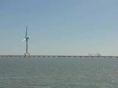 Das größte Windrad in der Nordsee