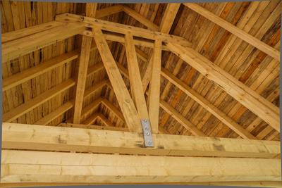 Dachstuhl vom Zimmermann