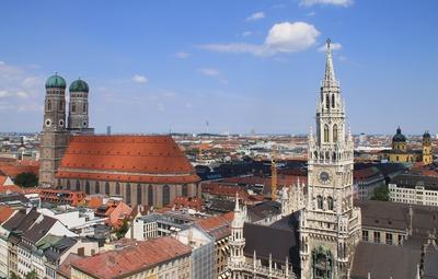 Historische Altstadt Münchens...