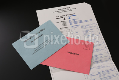 Bundestagswahl 2013 Briefwahl