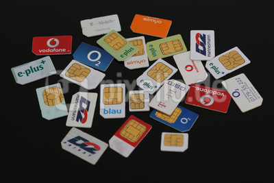 SIM Karten aller großen Anbieter