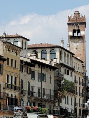 Verona, Historische Fassaden