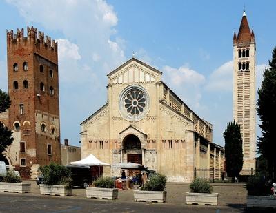 Verona, Basilica San Zeno Maggiore