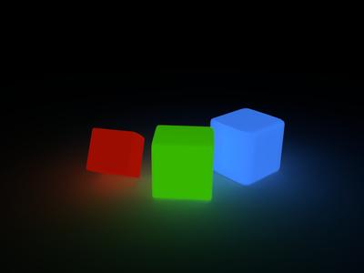 3D LED Würfel