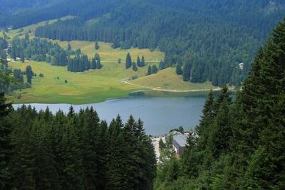 Der größte Hochgebirgssee Bayerns