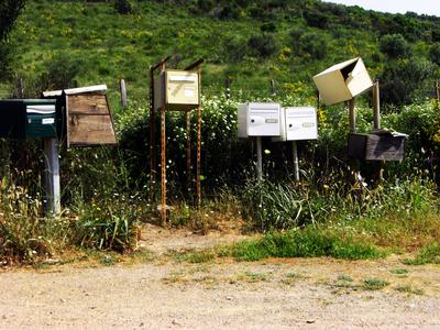 Korsika Briefkästen