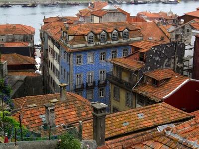 Dächer in Porto