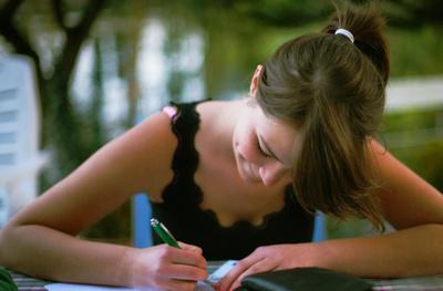 Ich schreibe Dir