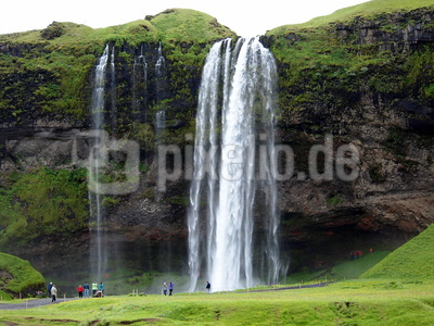 Seljalandsvoss Wasserfall - Island