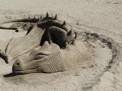Sand-Drache