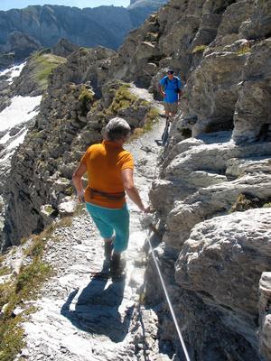 Kleiner Klettersteig am Säntis 4