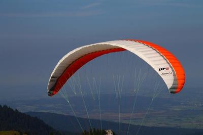Gleitschirmflieger am Brauneck 04