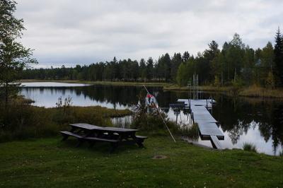 Badeplatz in Nordschweden
