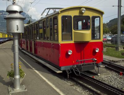 Startklar Schynige Platte-Bahn