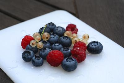 Obst - ganz frisch gewaschen