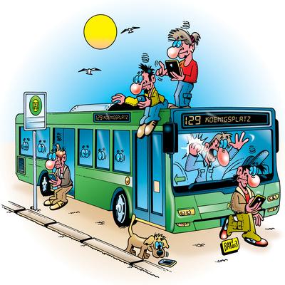Berufsbilder: Busfahrer