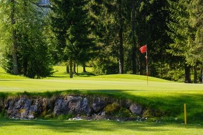 Golf in den Bergen